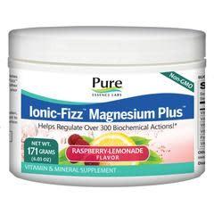 Ionic-Fizz Magnesium + Raspberry - 171g