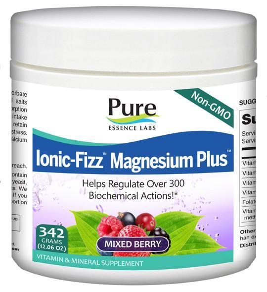 Ionic-Fizz Magnesium Plus Mixed Berry 342 g