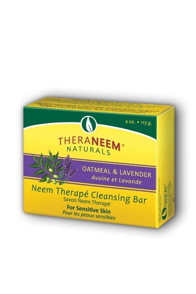TheraNeem Organix Oatmeal & Lavender Bar Soap
