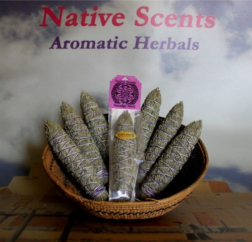 Native Scents Smudge Stick Purple Majesty