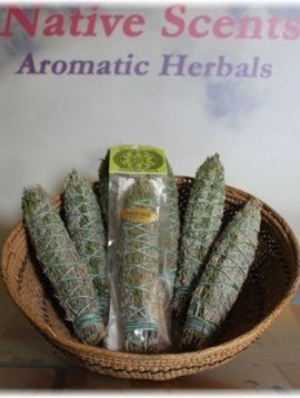 Native Scents Smudge Stick Pinon and Sage