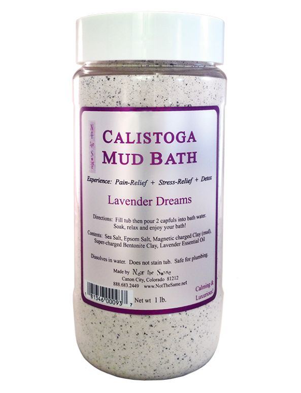 Not the Same Lavender Dreams Calistoga Mud Bath - 1lb