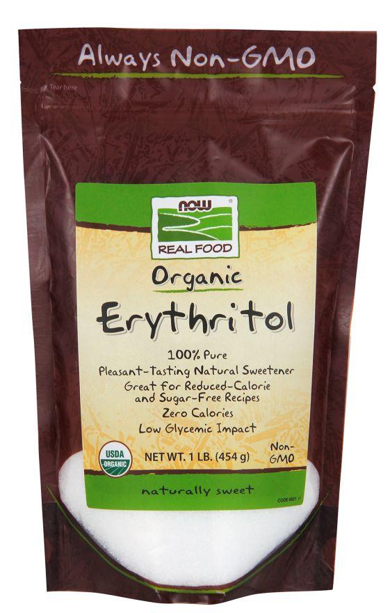 Now Foods Organic Erythritol - 1lb.