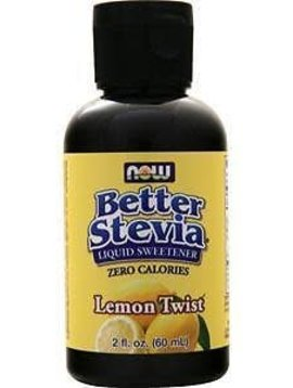 Now Foods Stevia Better Stevia Lemon Twist 2 oz