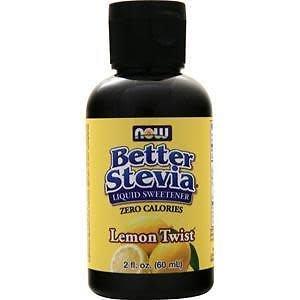 Now Foods Better Stevia Lemon Twist - 2oz