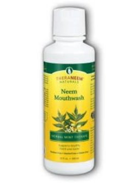 TheraNeem Organix Neem Mouthwash Mint - 16oz