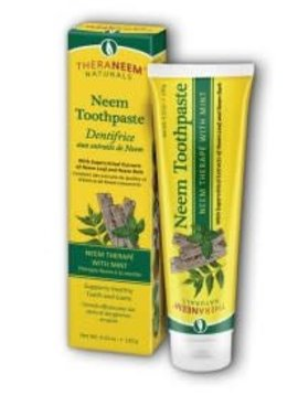TheraNeem Organix Neem Toothpaste Mint - 4.23oz