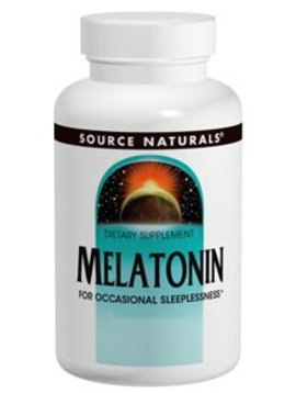 Source Naturals Melatonin (peppermint) 2.5 mg -- 60 tabs