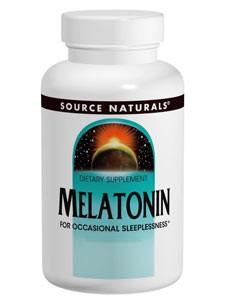Source Naturals Melatonin (peppermint) 2.5 mg -- 60 tabs