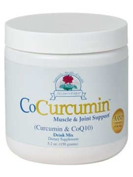 Ayush Herbs CoCurcumin turmeric extract powder -- 5 oz.