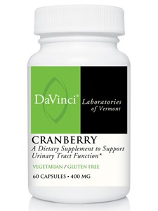 Nature's Way Products Cranberry concentrate 400 mg 60 tabs
