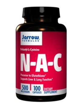 Allergy Research Group N-A-C Jarrow 500 mg 100 caps