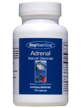 Adrenal Natural Glandular 150 vegcaps