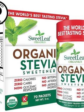 Stevia Organic Sweetleaf packets 70 ct