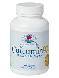 Ayush Herbs Turmeric (Curcumin 97%) 90 caps