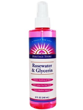 Rosewater & Glycerine - 8 oz