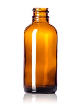 2 oz Amber Glass Bottles W/Spray Lid