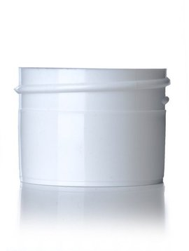 White Plastic Jars - 1/2oz.