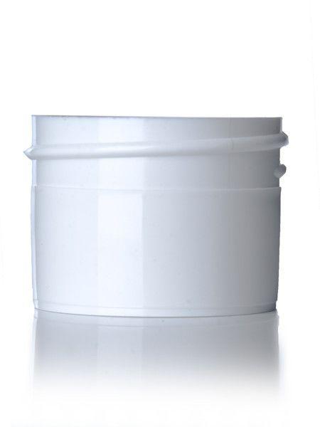White Plastic Jars - 1/2oz.