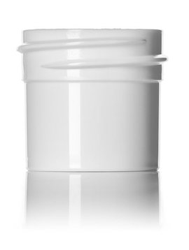 White Plastic Jars - 1/4 oz