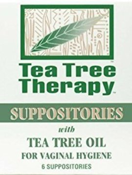 Tea Tree Therapy, Inc. Tea Tree Therapy - Suppositories -- 6 ct