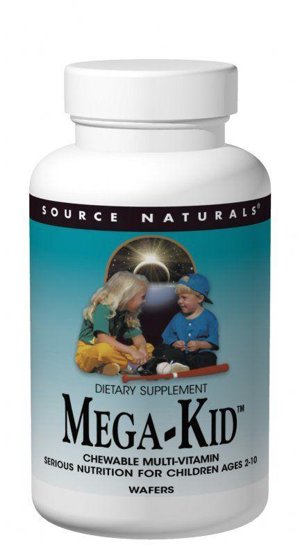 Source Naturals Mega Kid - 30 wafers