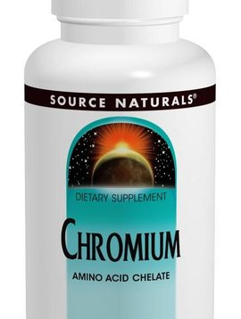 Source Naturals Chromium GTF (Source Nat) - 60 tabs