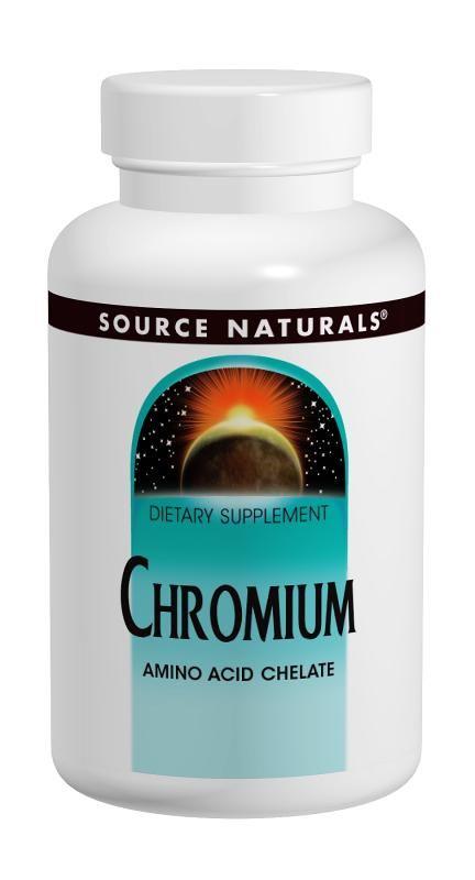 Source Naturals Chromium GTF (Source Nat) - 60 tabs
