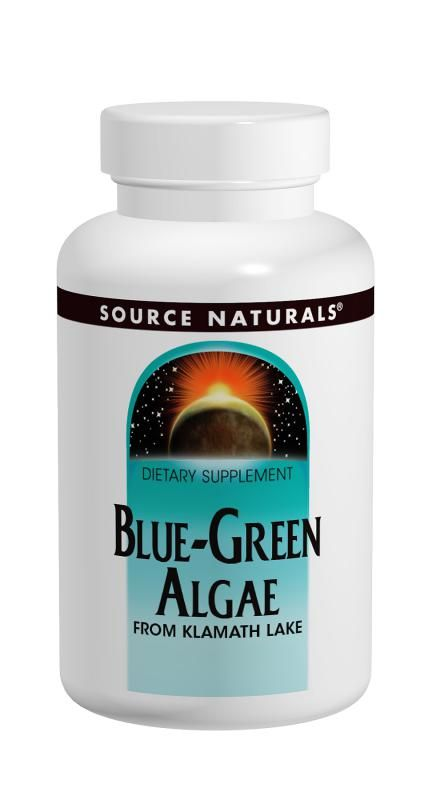 Source Naturals Blue-Green Algae 500 mg. - 50 tabs
