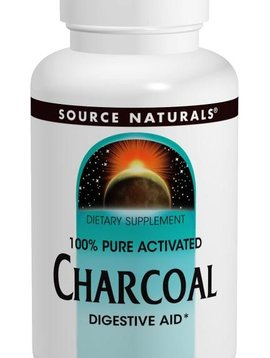 Source Naturals Charcoal 260 mg. - 200 caps