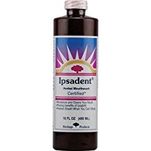 Ipsadent Herbal Mouthwash 16 fl.oz.