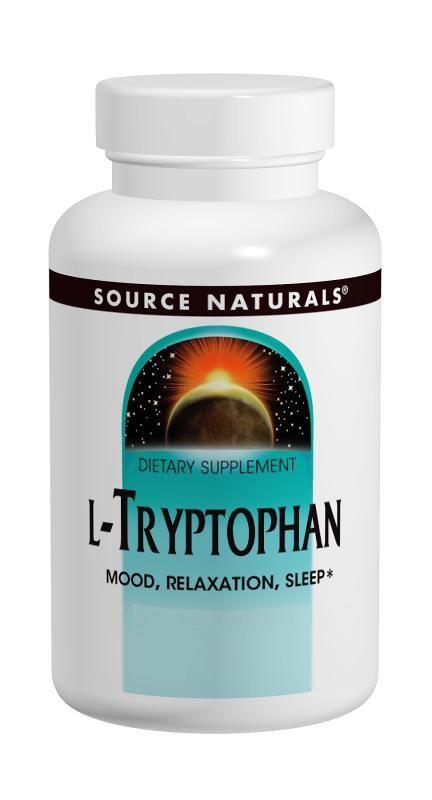Source Naturals L-Tryptophan  500mg - 60 cap