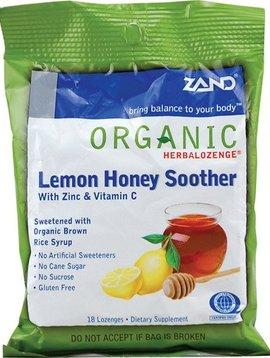 Lemon Honey Zinc Soother - 18 lozenges
