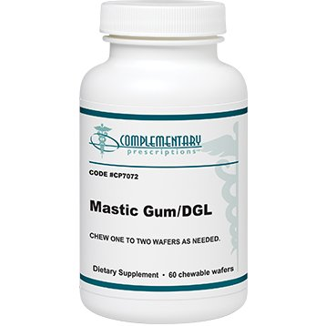Jarrow MASTIC GUM/DGL 60 CHEW WAFERS