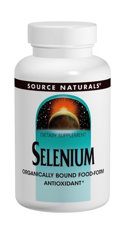 Source Naturals Selenium  200mcg  - 120 tab
