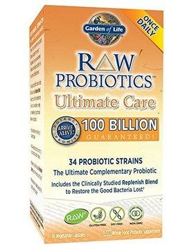 Garden of Life Probiotic Raw 100 billion