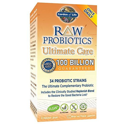 Garden of Life Probiotic Raw 100 billion