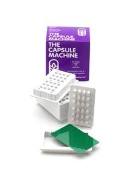 Capsule Connection Capsule Filler fills cap size 0 - 24 caps