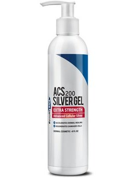 Silver ACS 200 Gel Extra Strength 8 fl oz
