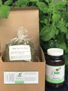 Herp Ease Kit - With Capsules