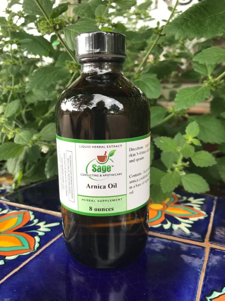 Arnica Oil -- 8 oz.