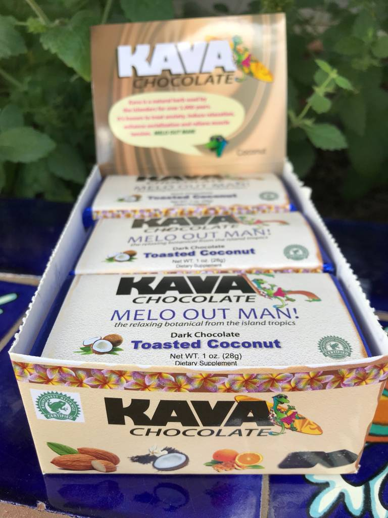 Kava Chocolate Coconut  bar