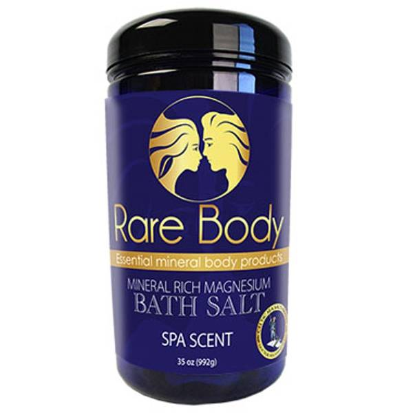 Rare Body Bath Salt - 35oz Spa Scent