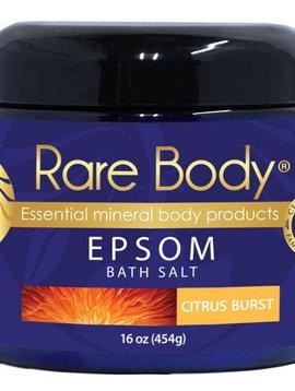 Rare Body Epsom Citrus Burst Bath Salt 16 oz