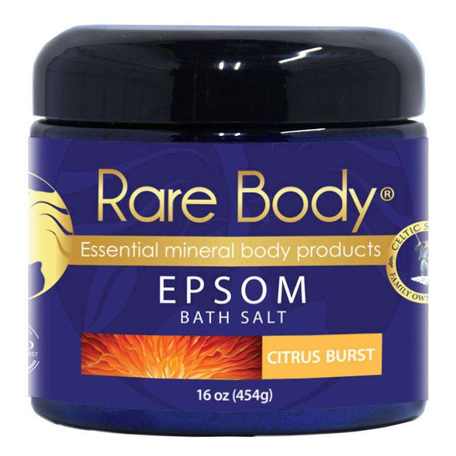 Rare Body Epsom Citrus Burst Bath Salt 16 oz