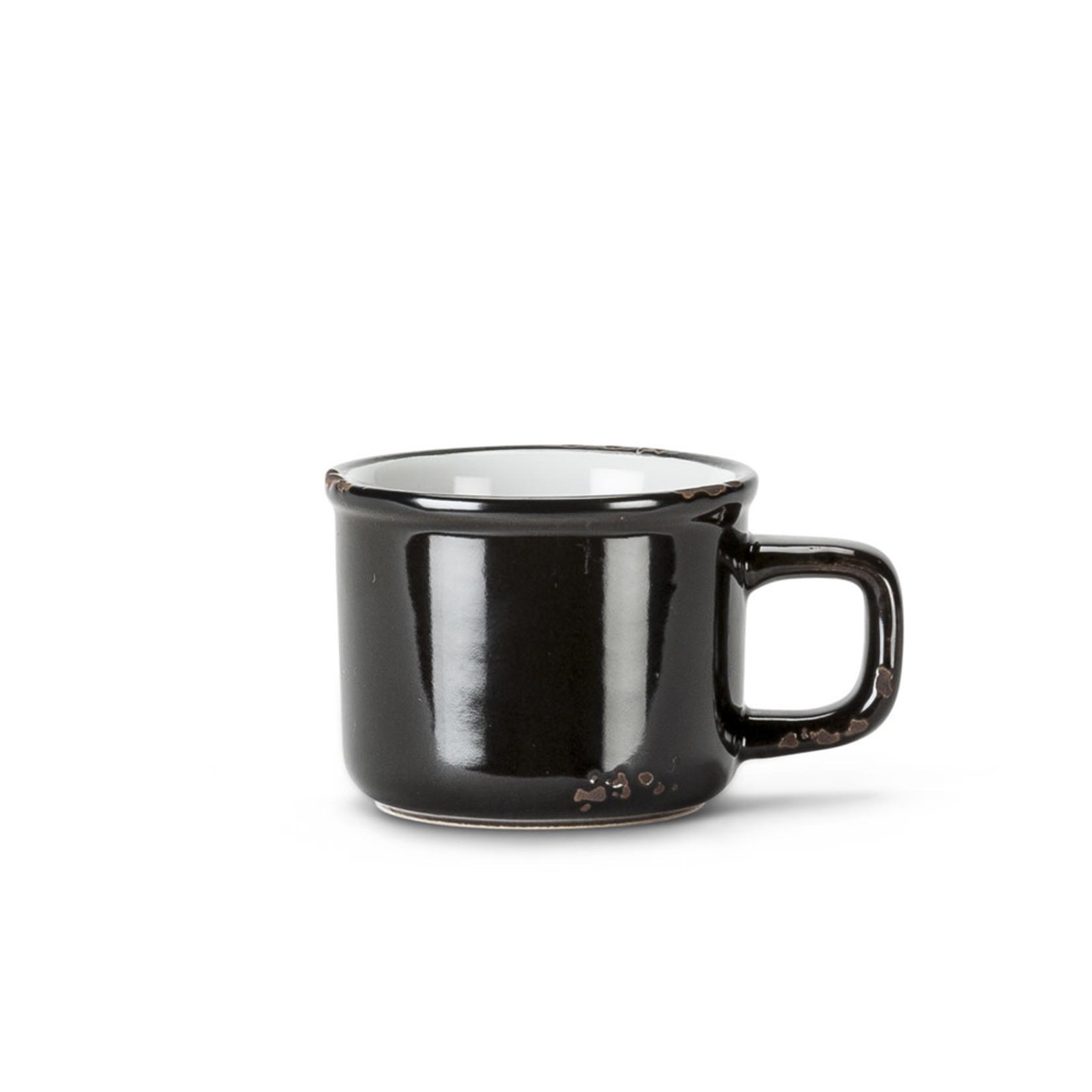 Abbott Tasse espresso émail - Noire
