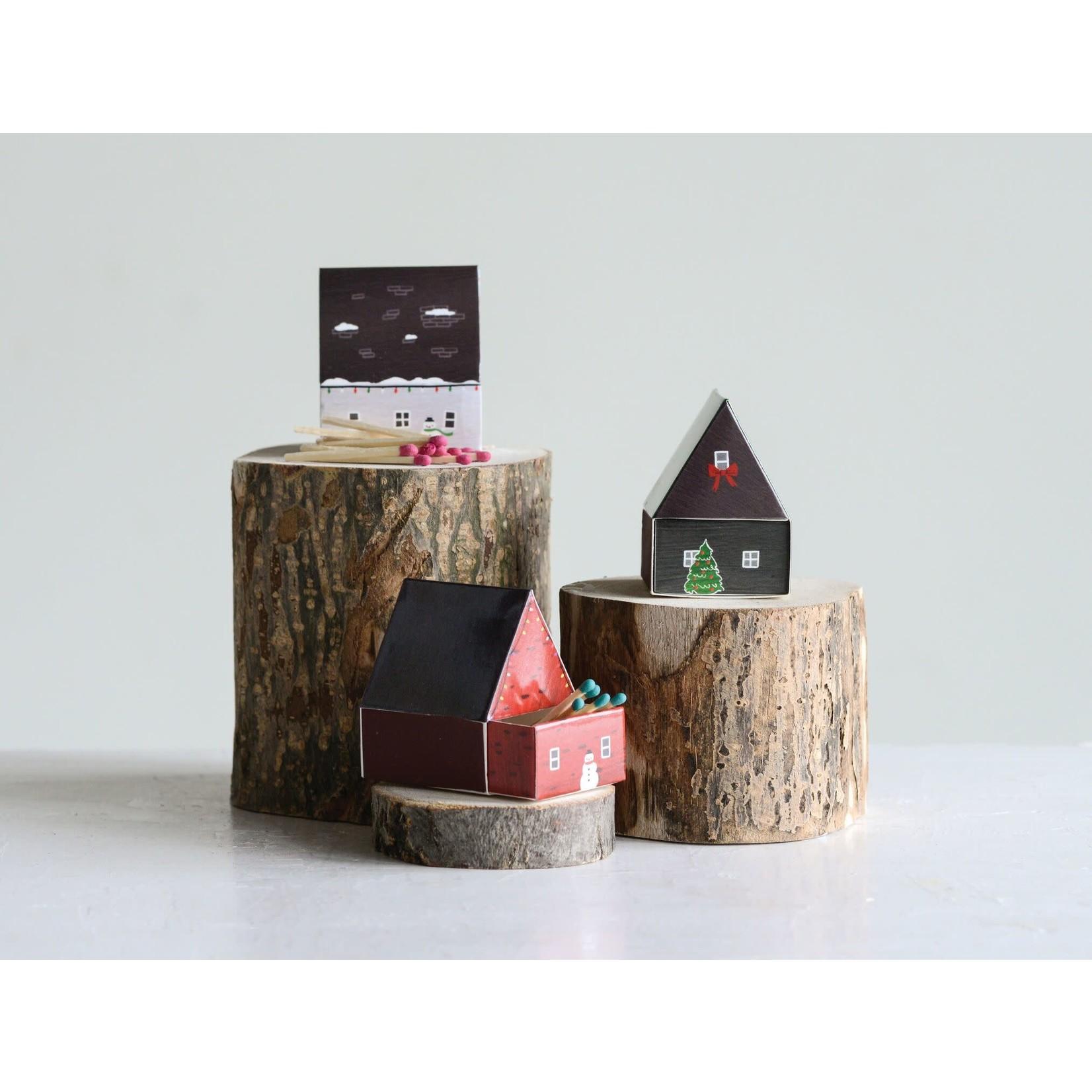Creative Coop Boîte d'allumettes Noël