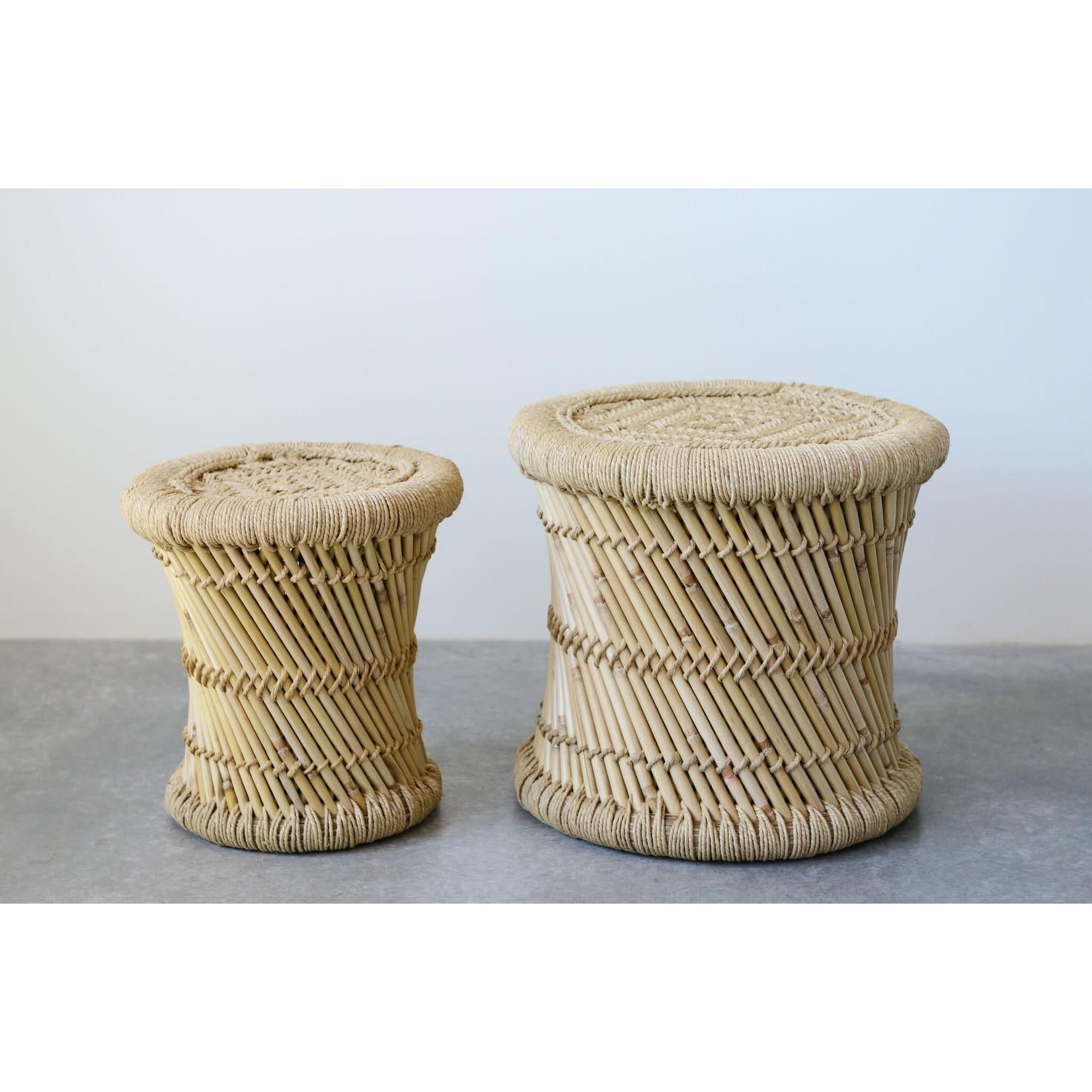Creative Coop Table bambou SM