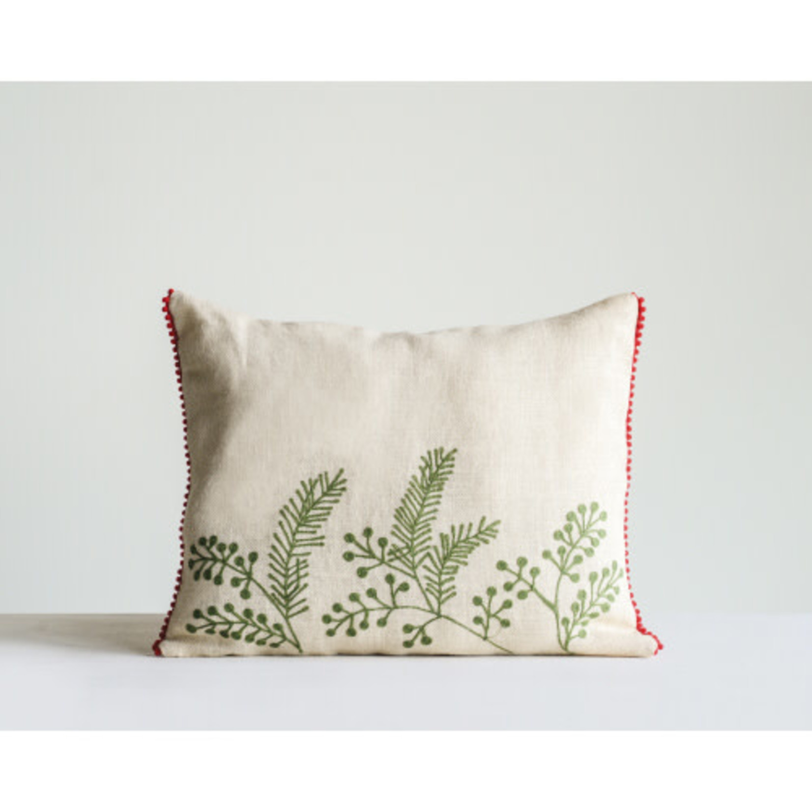Creative Coop Coussin FEUILLAGE