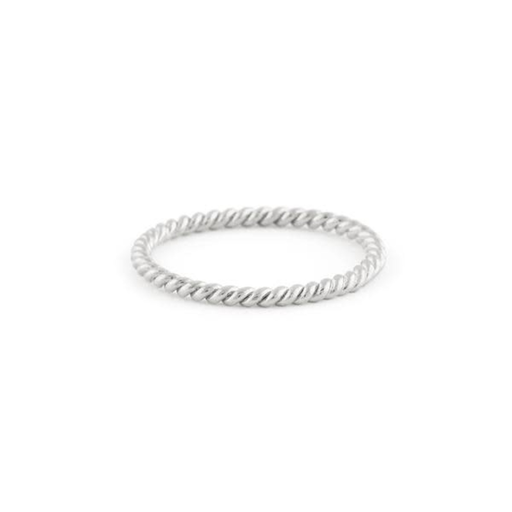Treasure Box TREASURE BOX bague tressée argent